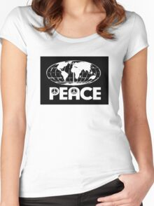 World Peace 2 Women's Fitted Scoop T-Shirt