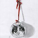 Christmas cat by MoniqueGeurts
