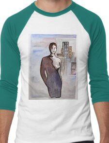 COSMO LADY Men's Baseball ¾ T-Shirt