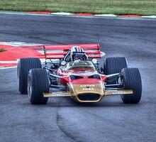 Lotus F1 - Type 49 - 1967/70 HDR by Nigel Bangert