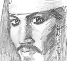 Pirate Johnny Depp by Leanne Masters