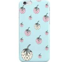 strawberry dreams blue iPhone Case/Skin