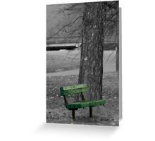 Place of peace Greeting Card