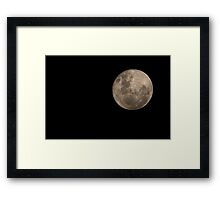 Full Moon, December 7, 2014, Kardinya, W.A. Framed Print