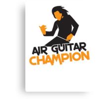 Air GUITAR Champion Canvas Print