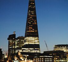 The Shard at Dusk by InterestingImag