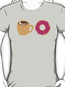 Coffee and Doughnut! sweet treats! T-Shirt