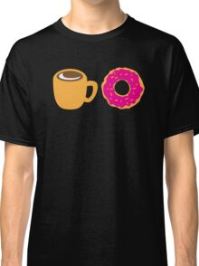 Coffee and Doughnut! sweet treats! Classic T-Shirt