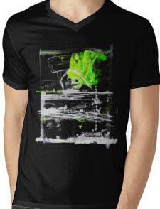 green mess Mens V-Neck T-Shirt