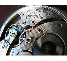 Time Piece Photographic Print
