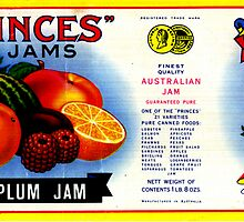 AJC Label: Princes Jams by Tom Newman
