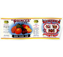 AJC Label: Princes Jams Poster
