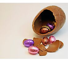 Easter Eggs. Photographic Print