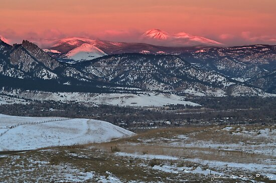 A Sunrise Overlook by John  De Bord Photography