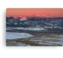A Sunrise Overlook Canvas Print