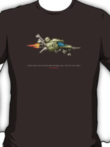Spaceship for Galactic Headbone! T-Shirt