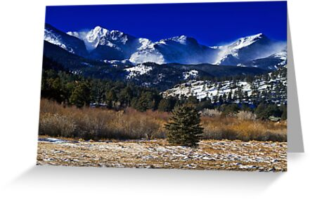 A View From Estes Park by John  De Bord Photography