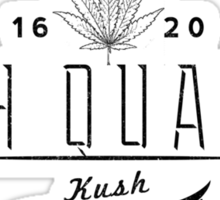 High Quality Kush Sticker