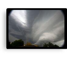 Hail Storm  Canvas Print