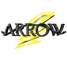 Tv Series Arrow and Flash cross-over Photographic Print