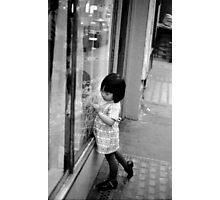 Chinese child, Covent Garden Photographic Print