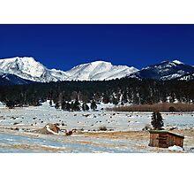 Mountain Rural Life Photographic Print