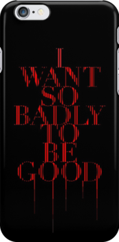 I Want So Badly To Be Good [tour book] by DCdesign