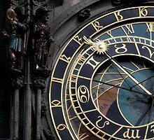 Astronomic clock by Efi Keren