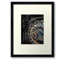 Astronomic clock Framed Print