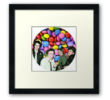 THE PISTOLS Framed Print