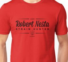 Strain Hunter - Robert Nesta(Bob Marley) Unisex T-Shirt