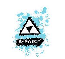 Pop Punk Triforce Photographic Print