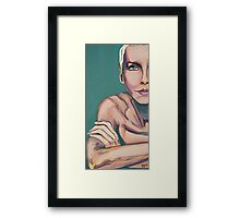 So Baby Talk to Me Framed Print