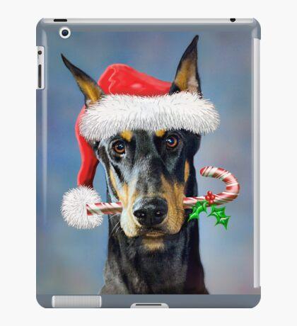 Doberman Christmas iPad Case/Skin