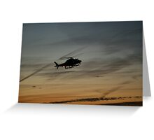 HELIcopter 002 Greeting Card