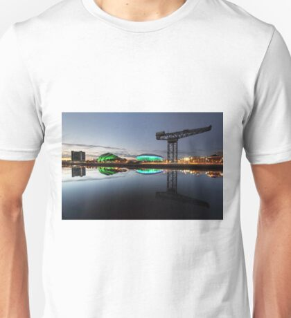 Glasgow River Clyde Reflection Unisex T-Shirt