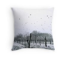 weather for Hitchcock? Throw Pillow