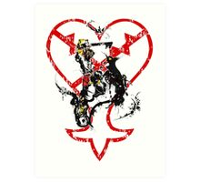 Kingdom Hearts v1 Art Print