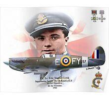 Flt. Lt. Eric Stanley Lock Poster