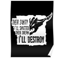Outworld Devourer - Shattered Sanity Poster