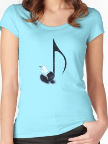 Born to Sing Women's Fitted Scoop T-Shirt