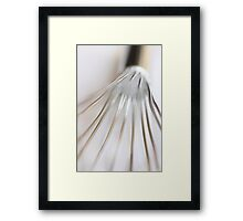 Have you seen my whisk today - JUSTART © Framed Print