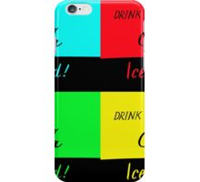 Pop Art Coca-Cola iPhone Case/Skin