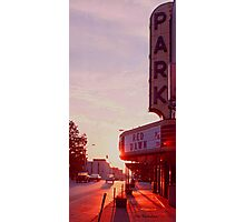 Red Dawn Photographic Print