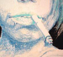 Blue Bailey, by James Patrick Sticker