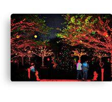 Paradise garden Canvas Print