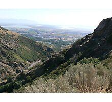 farmington canyon Photographic Print