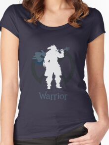 Warrior - Final Fantasy XIV [black] Women's Fitted Scoop T-Shirt
