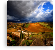 Andalusia for ever Canvas Print
