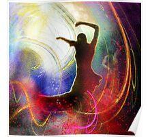 Flamencoscape 16 Poster